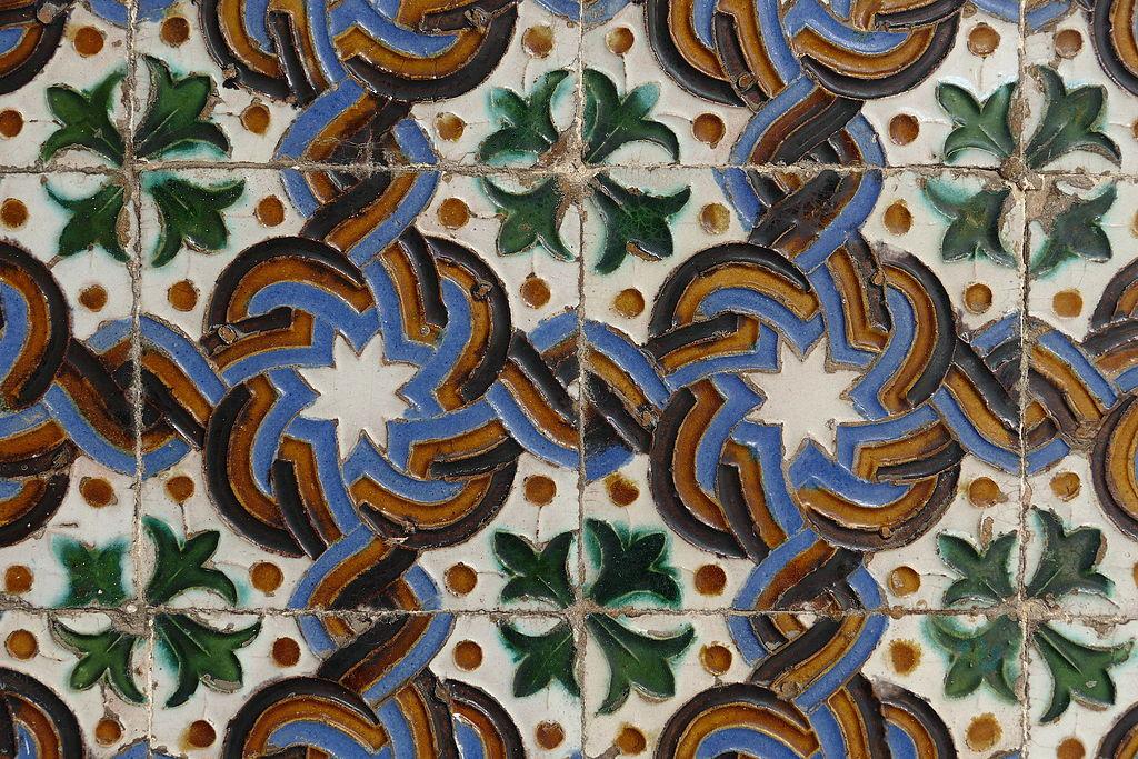 Azulejo du Palais de Pilate de Séville - Photo de Schnobby