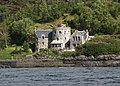 Castellated house near the entrance to Tarbet Bay - geograph.org.uk - 1567105.jpg