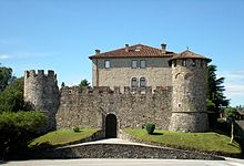 Il castello visto da est