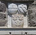 Castello di bodrum, accesso al cortile, stemma giovan battista orsini 01.JPG