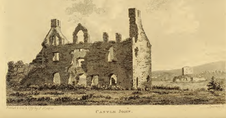 Muintir Eolais - Castle John and Jail Island at Lough Scur circa 1791