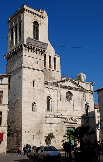 Geraldus d'Anduze - Nîmes Cathedral.