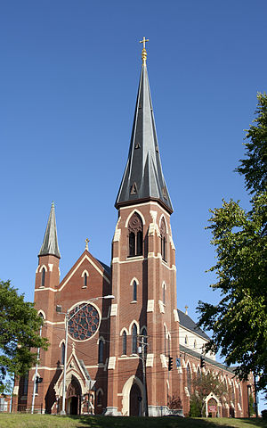 Roman Catholic Diocese of Portland - Cathedral of the Immaculate Conception in Portland
