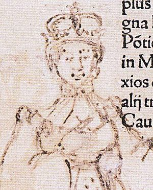 Karin Månsdotter - Queen Catherine as drawn by her husband in prison