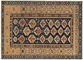 Caucasian Shirvan, 3ft 7in x 4ft 10in, circa 1850.jpg