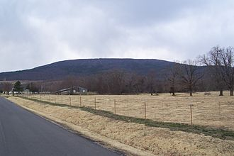 Cavanal Hill - Cavanal Hill viewed from the south north side