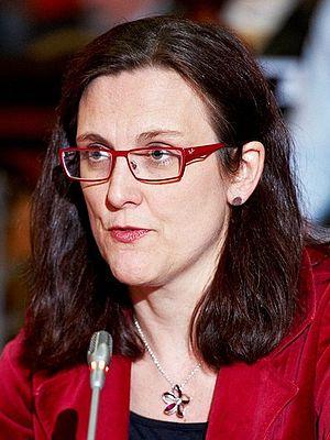European Commissioner for Trade - Image: Cecilia Malmström (cropped)