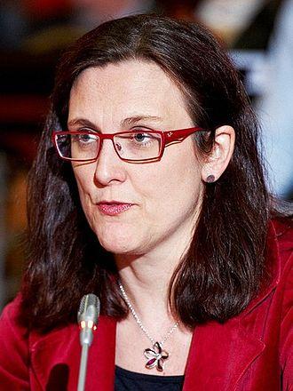 Minister for EU Affairs (Sweden) - Image: Cecilia Malmström (cropped)