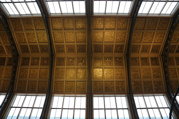 Центральный зал потолка