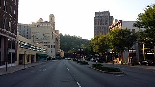 Central Avenue Historic District (Hot Springs, Arkansas) United States historic place