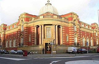 Central Library (Blackpool) public library in Blackpool, Lancashire, England