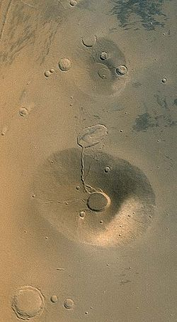 Ceraunius Tholus and Uranius Tholus.jpg