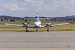 Cessna T303 Crusader (VH-UZX) at Wagga Wagga Airport.jpg