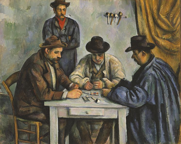Fichier:Cezanne The Card Players Metmuseum.jpg