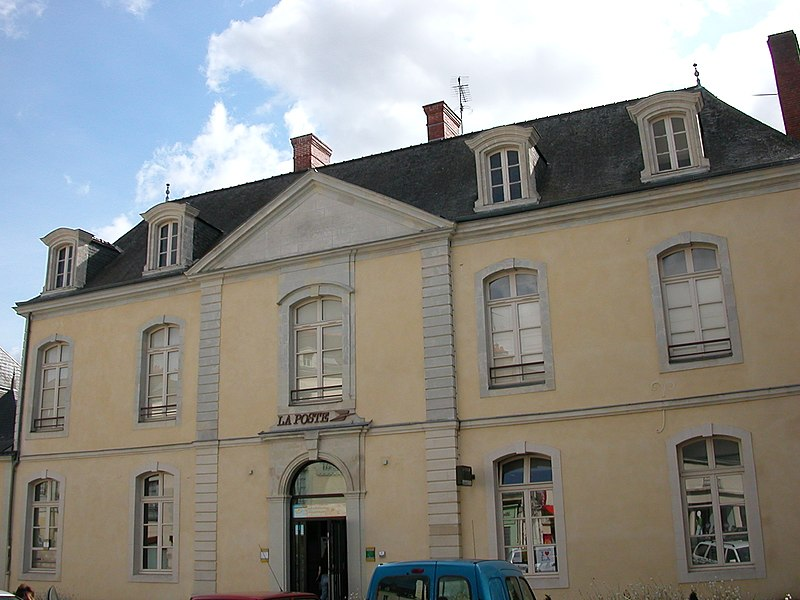 Main post office of Château-Gontier