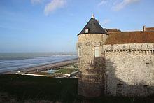Château de Dieppe et la mer.jpg