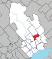 Charette Quebec location diagram.png