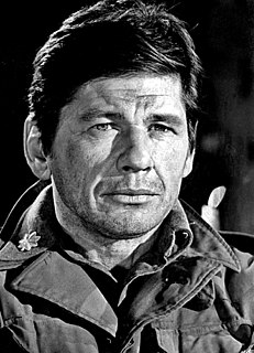 Charles Bronson American film and television actor