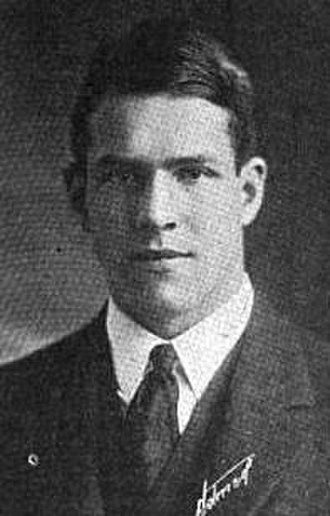 1922 College Football All-America Team - Charles Hubbard of Harvard.