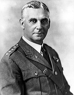 Charles Pelot Summerall former US Army Chief of Staff