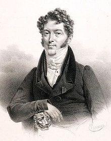 Charles Philippe Lafont.Portrait by Pierre-Roch Vigneron. (Source: Wikimedia)