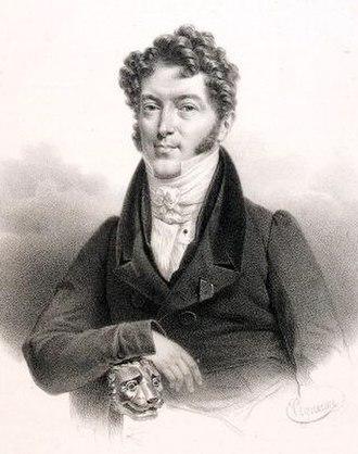 Charles Philippe Lafont - Charles Philippe Lafont. Portrait by Pierre-Roch Vigneron.