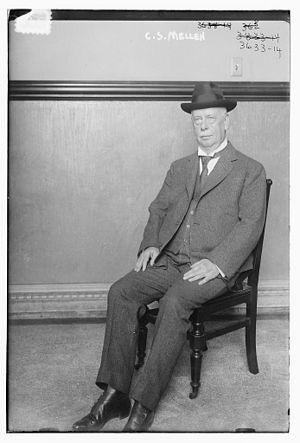 Charles Sanger Mellen - Charles Sanger Mellen in 1915