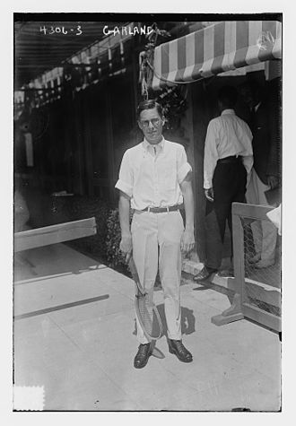 1917 U.S. National Championships (tennis) - Chuck Garland at the 1917 U.S. National Championships