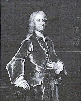 Charles Fane, 1st Viscount Fane - Charles ffane by John Vanderbank, c1720s.