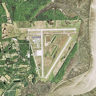Charleston Executive Airport - USGS aerial image as of 2006