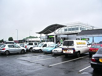 Charnock Richard Services - The main building