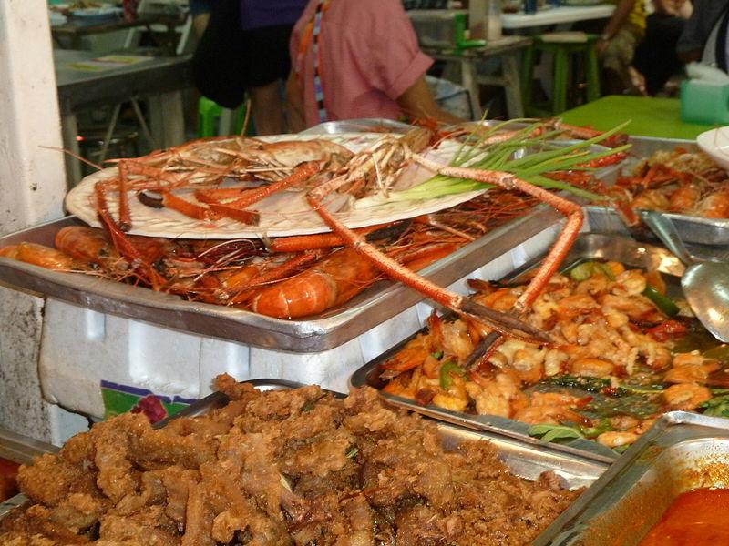 Food at Chatuchak Market