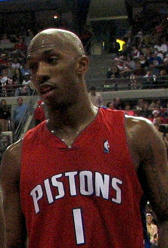 Chauncey Billups - Billups with the Pistons.