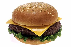 Cheeseburger - Image: Cheeseburger