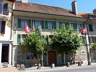 Chexbres - Townhall of Chexbres