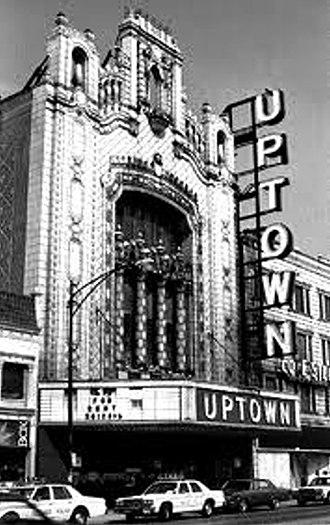 Uptown Theatre (Chicago) - Uptown Theatre circa 1960