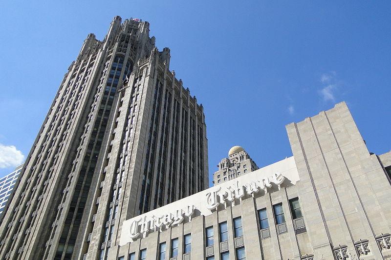 File:Chicago Tribune Building - Chicago - Illinois - USA.jpg