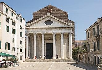 Andrea Tirali - Image: Chiesa di San Nicola da Tolentino (Venice)