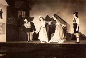 The Twelve Dancing Princesses - Children's Theatre performance in Maine 1942