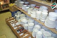 Stoviglie in porcellana