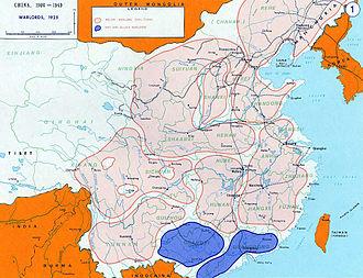 Anti-Fengtian War - China prior to the Anti-Fengtian War