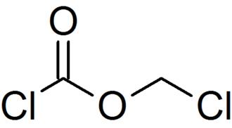 Chloromethyl chloroformate - Image: Chloromethyl chloroformate