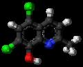 Chlorquinaldol 3D ball.png