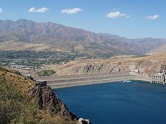 Chirchiq River - Charvak Dam and reservoir