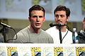 Chris Evans & Aaron Taylor-Johnson SDCC 2014.jpg