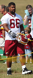 Chris Chester (American football) American football guard