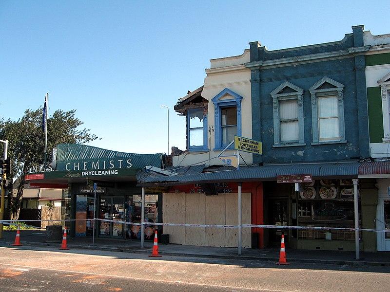 File:ChristchurchEarthquake Beckenham01 gobeirne.jpg