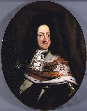 Jacques d'Agar - Christian V of Denmark, painting by d'Agar
