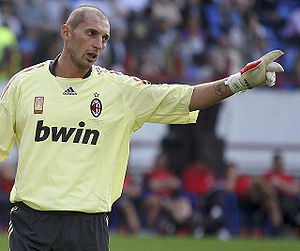 S.S. Monza 1912 - Christian Abbiati, goalkeeper from 1994 to 1998