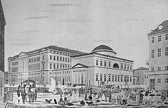 Heinrich Gustav Ferdinand Holm - Image: Christiansborg Holm 1837